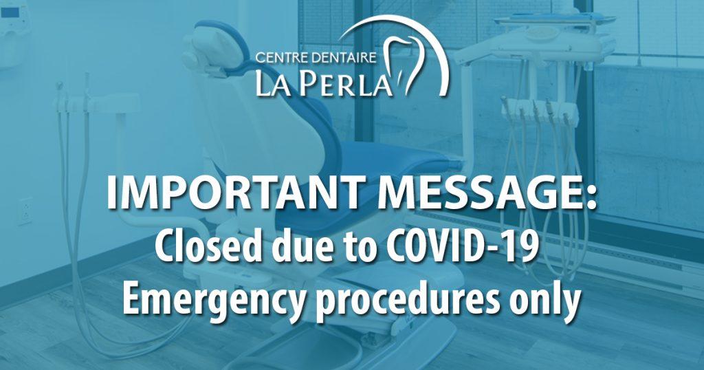 Important Message regarding – COVID-19